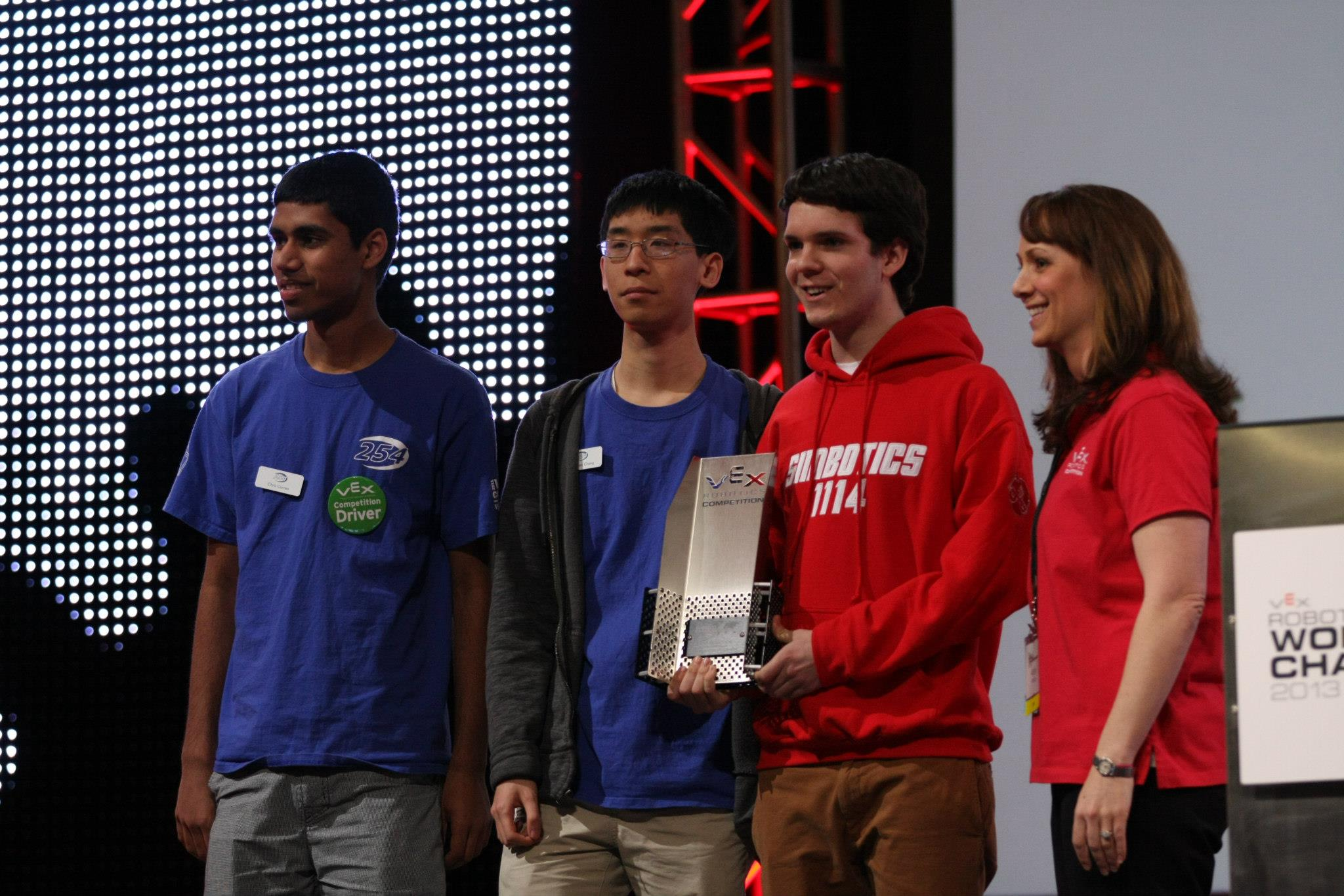 VEX Robotics world championship web design award