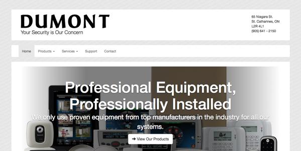 Dumont Security website